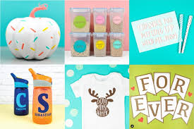 Easy Cricut Projects for Beginners - Easy Paper, Vinyl, and HTV Ideas!
