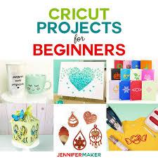 Cricut Projects for Beginners - Ideas & Tutorials - Jennifer Maker