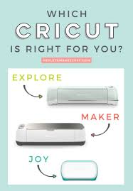 What are the Cricut Machine Differences? - Hey, Let's Make Stuff