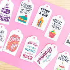 How to Make Gift Tags with your Cricut + Free SVG Templates
